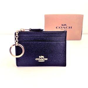 $78 Coach Mini Skinny ID Case Black
